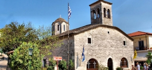 Churches and Monasteries, Xerxis Hotel in Nea Roda, Halkidiki, by the sea and the beach